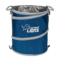 Logo Brand Detroit Lions Collapsible 3-in-1 Trashcan Cooler