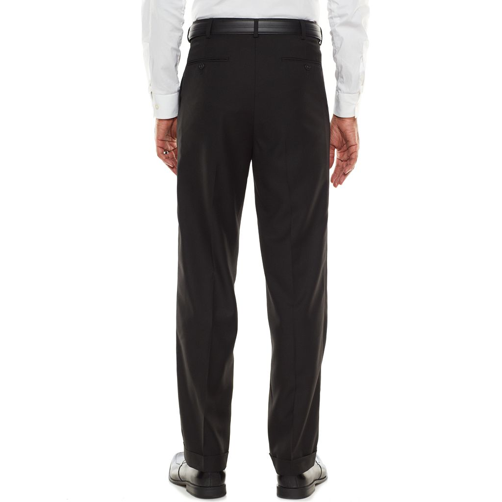 Men's Croft & Barrow® Classic-Fit Black True Comfort Suit Pants