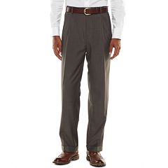 Men's Croft & Barrow® Classic-Fit Gray True Comfort Suit Pants