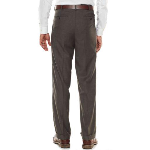 Men's Croft & Barrow® Classic-Fit Gray True Comfort Suit Pants