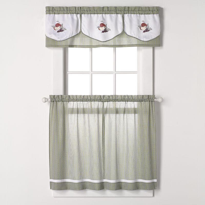 kitchen curtain set kohl 39 s