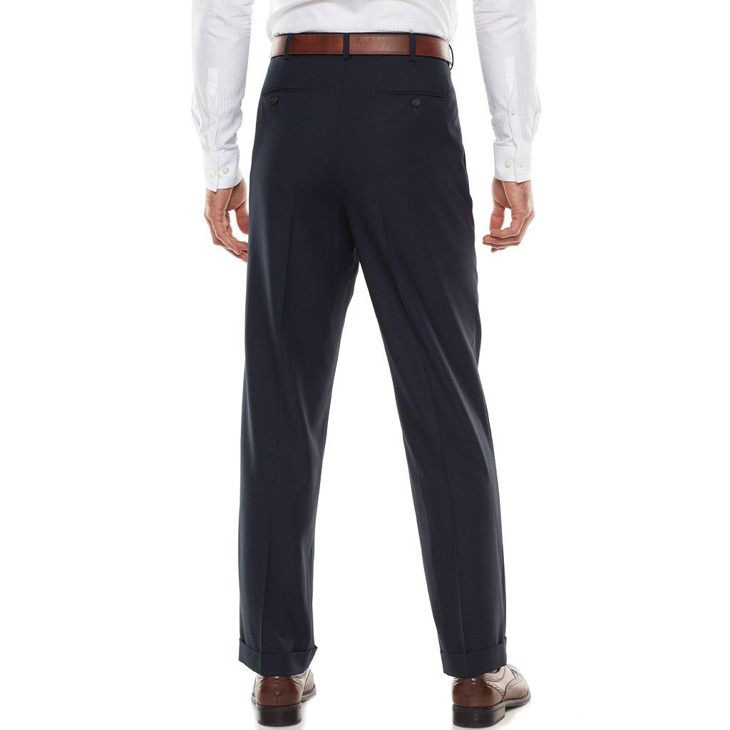 Men's Croft & Barrow® Classic-Fit Navy True Comfort Suit Pants
