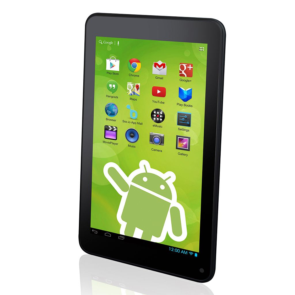 Zeki TBDG734B 7-in. Dual Core Tablet with Google Play