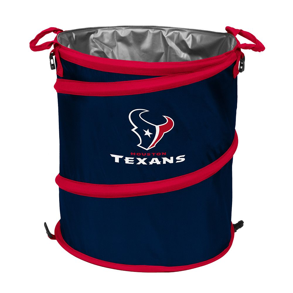 Logo Brand Houston Texans Collapsible 3-in-1 Trashcan Cooler