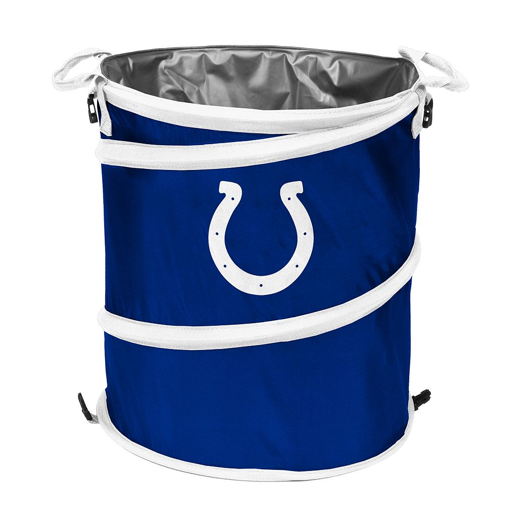 Logo Brand Indianapolis Colts Collapsible 3-in-1 Trashcan Cooler