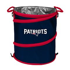 Logo Brand New England Patriots Collapsible 3-in-1 Trashcan Cooler