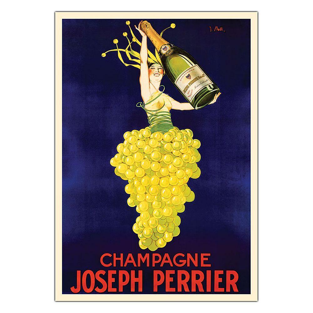 26'' x 32'' ''Champagne Joseph Perrier'' Canvas Wall Art