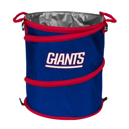 Logo Brand New York Giants Collapsible 3-in-1 Trashcan Cooler