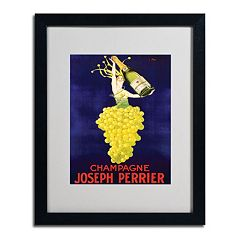 16'' x 20'' ''Champagne Joseph Perrier'' Framed Canvas Wall Art