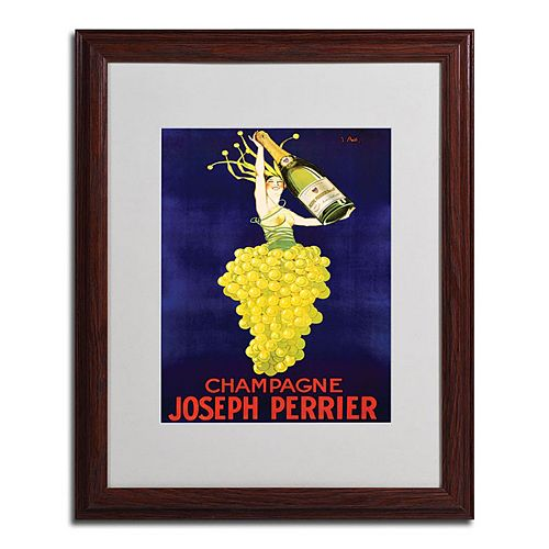 16 X 20 Champagne Joseph Perrier Framed Canvas Wall
