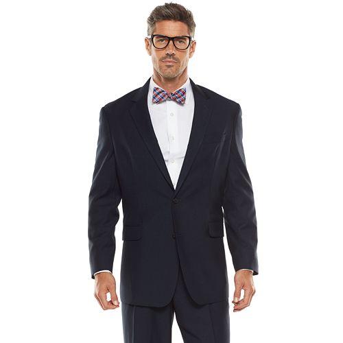Men's Croft & Barrow® Classic-Fit Navy True Comfort Suit Jacket