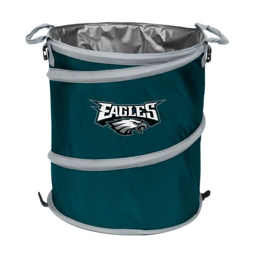 Logo Brand Philadelphia Eagles Collapsible 3-in-1 Trashcan Cooler