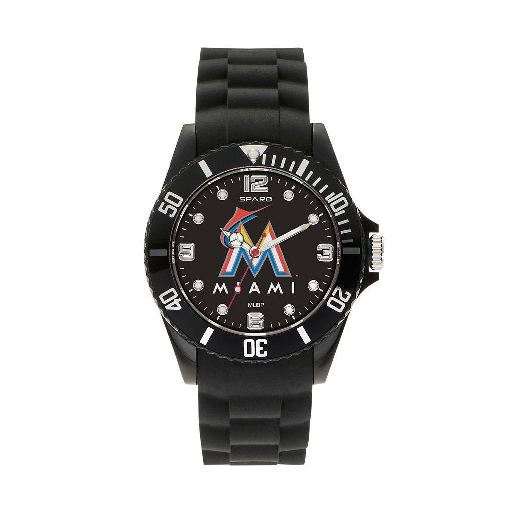 Sparo Men's Spirit Miami Marlins Watch