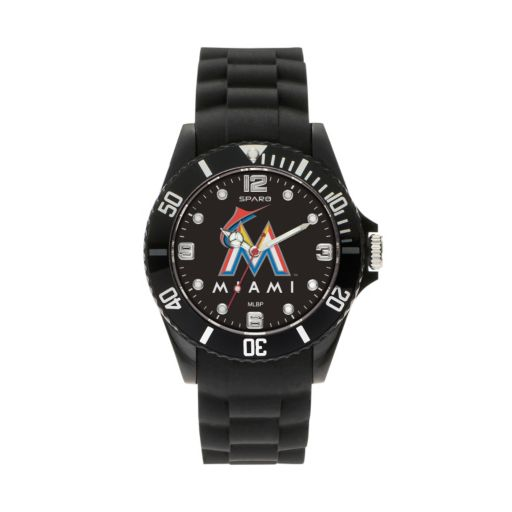 Sparo Men's Spirit Miami Marlins Watch