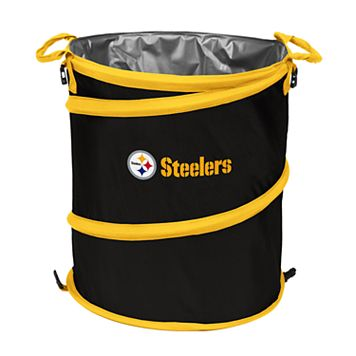 Logo Brand Pittsburgh Steelers Collapsible 3-in-1 Trashcan Cooler