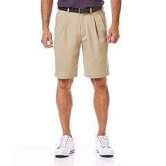 Big & Tall Grand Slam Classic-Fit Performance Double-Pleated Golf Shorts
