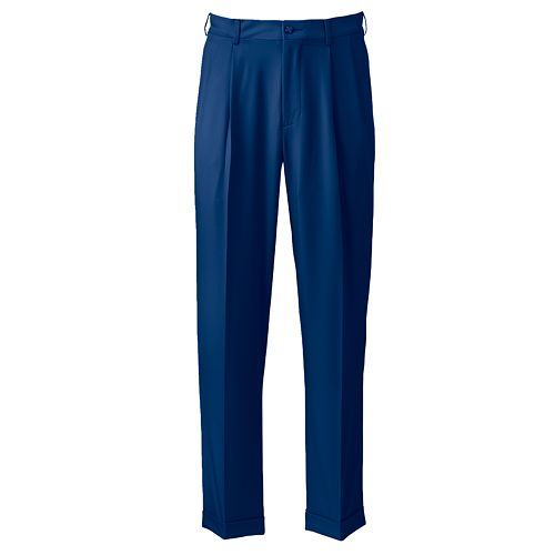 Big & Tall Grand Slam Performance Easy-Care Double-Pleated Golf Pants