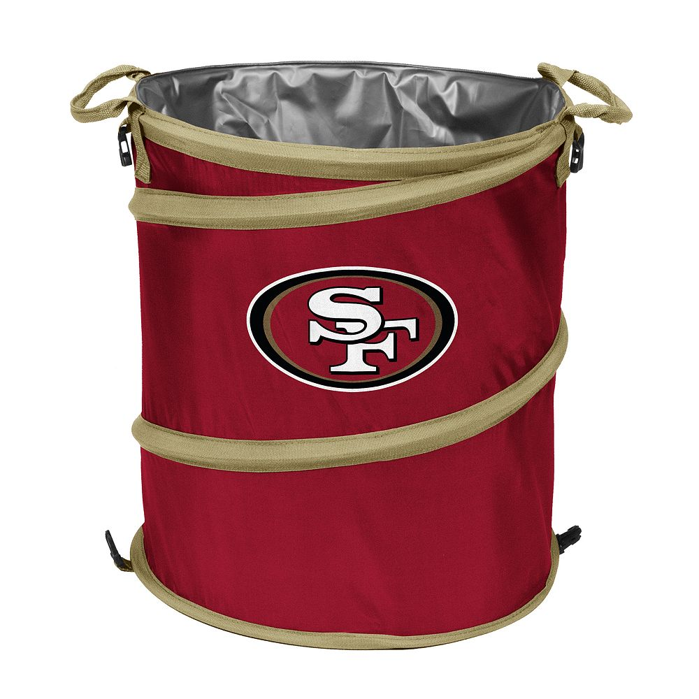 Logo Brand San Francisco 49ers Collapsible 3-in-1 Trashcan Cooler