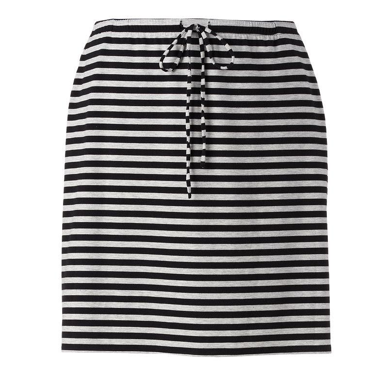 SONOMA life + style Midi Skirt - Women's Plus Size