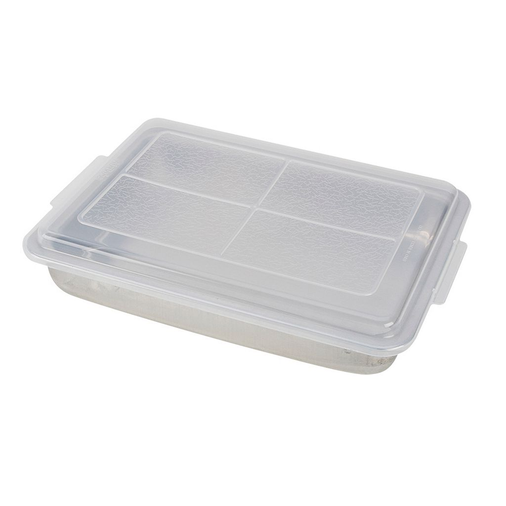 T-Fal AirBake Natural 9'' x 13'' Covered Cake Pan