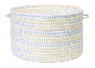 """Colonial Mills Fabric Ticking Striped 14"""" x 10"""" Utility Basket"""