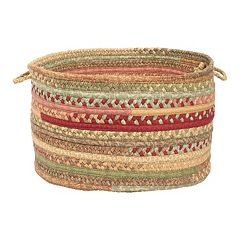Colonial Mills Fabric Braid 18' x 12' Utility Basket