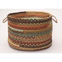 Colonial Mills Fabric Braid 18' x 12' Utility Basket