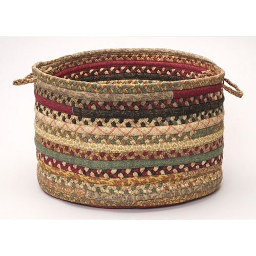 "Colonial Mills Fabric Braid 14"" x 10"" Utility Basket"