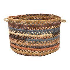 Colonial Mills Fabric Braid 14' x 10' Utility Basket