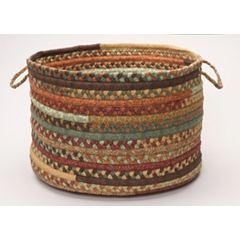 Colonial Mills Fabric Braid 14' x 10' Utility Basket