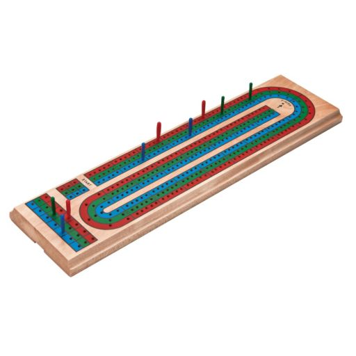 Mainstreet Classics Wooden Cribbage Board