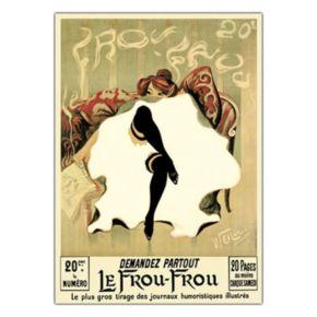 35'' x 47'' ''Le Frou Frou'' Canvas Wall Art