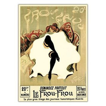 35'' x 47'' ''Le Frou Frou'' Canvas Wall Art
