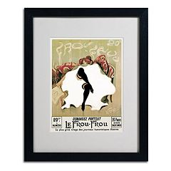 20'' x 16'' ''Le Frou Frou'' Framed Canvas Wall Art