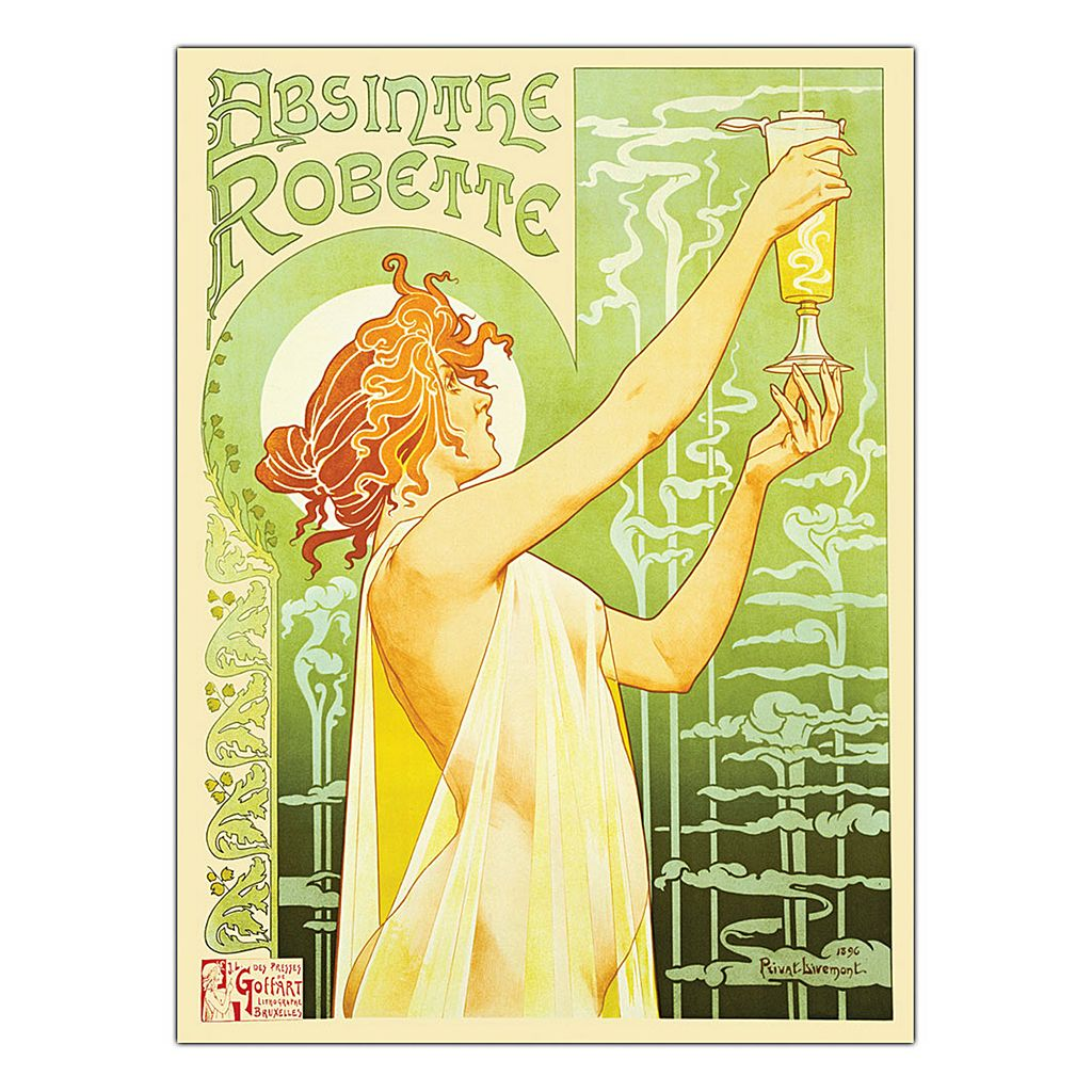 19'' x 14'' ''Absinthe Robette'' Canvas Wall Art