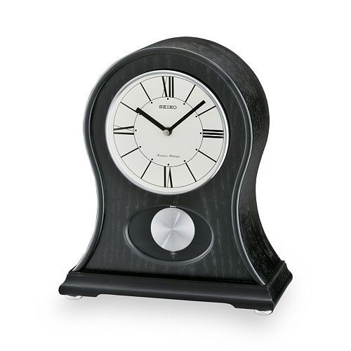 Seiko Wood Mantel Clock - QXQ027KLH