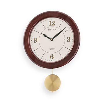 Seiko Wood Musical Wall Clock - QXM345BLH