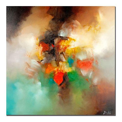 35'' x 35'' ''Abstract I'' Canvas Wall Art