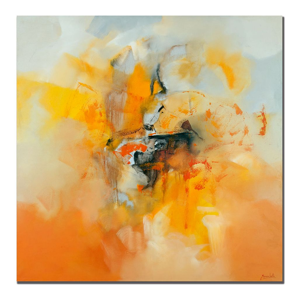 24'' x 24'' ''Abstract IV'' Canvas Wall Art