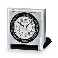 Seiko World Time Travel Alarm Clock