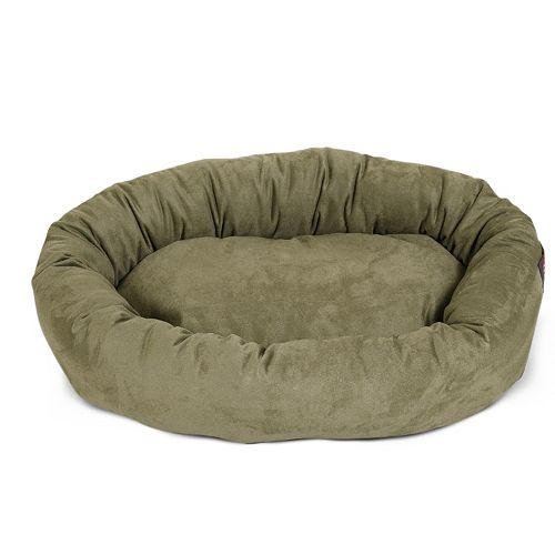 Majestic Pet Bagel Faux Suede Pet Bed - 23'' x 32''