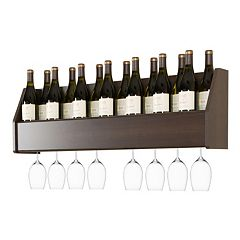 Prepac Wall Wine Rack