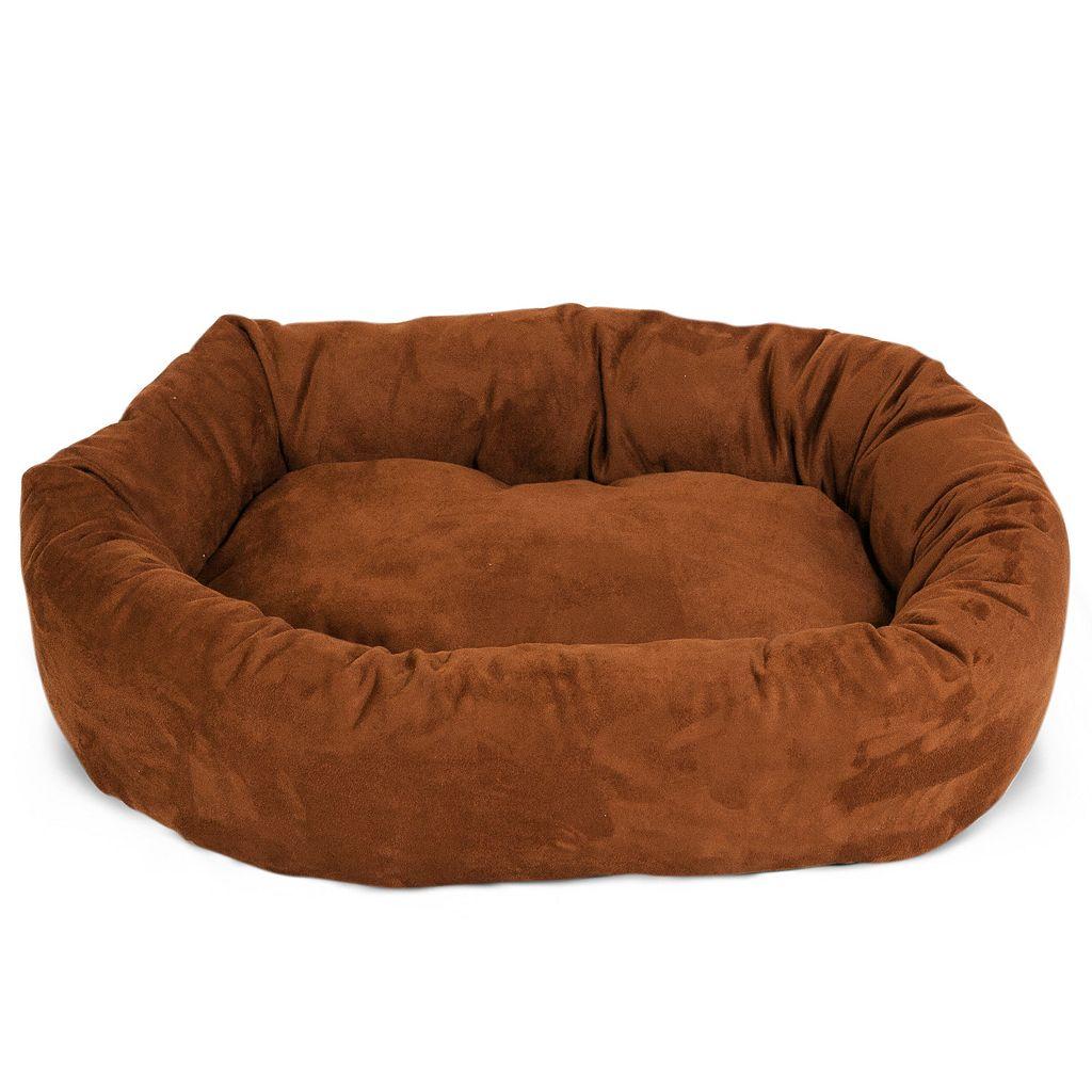 Majestic Pet Bagel Faux Suede Pet Bed - 29'' x 40''