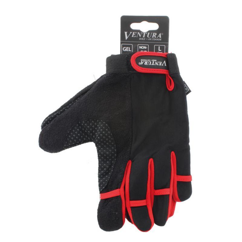 Ventura Full Finger Cycling Gloves - Red XL 95546348