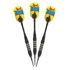 Viper Comix 'Ka-Boom!' 18 Gram Soft Tip Dart Set