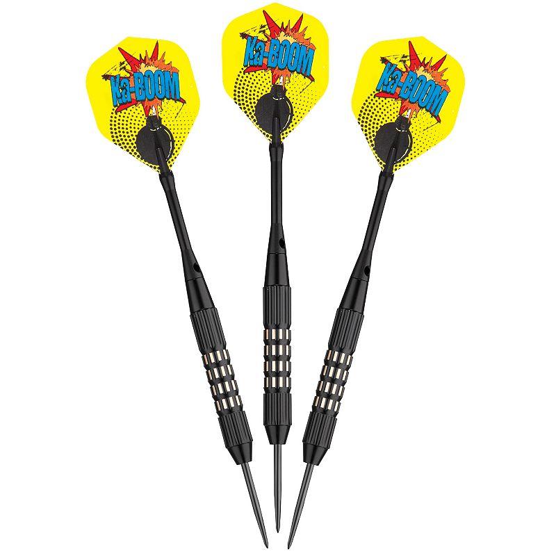 Viper Comix Steel Tip Darts Black, 22 Grams
