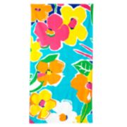 Juicy Couture Floral Beach towel
