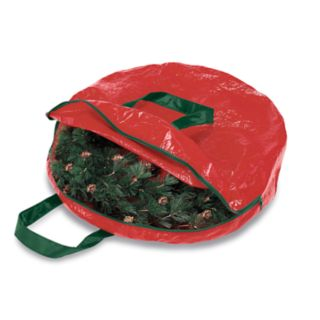 Whitmor Holiday Garland and Wreath Storage Bag