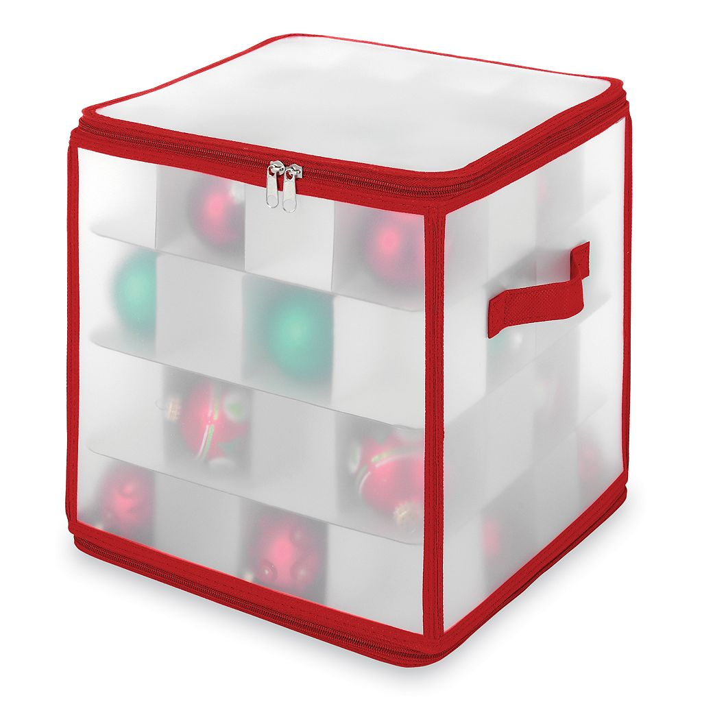 Whitmor Ornament Storage Box