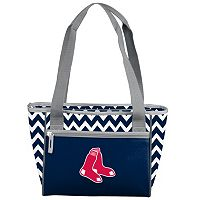 Logo Brand Boston Red Sox 16-Can Chevron Cooler Tote